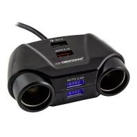 Priza auto, 4 x USB, 50 cm, port Quick Charge