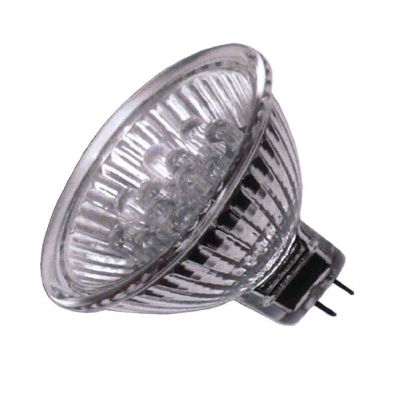Spot cu 21 LED-uri, MR16, 45 lm, 1.4 W, 12 V, unghi dispersie lumina 30 grade 2021 shopu.ro