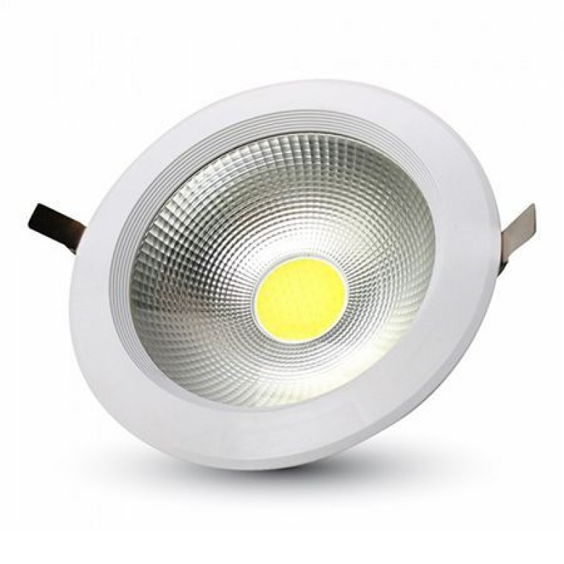 Spot LED, 10 W, 6000 K, 730 lm, IP20, lumina alb rece, variator intensitate luminoasa shopu.ro