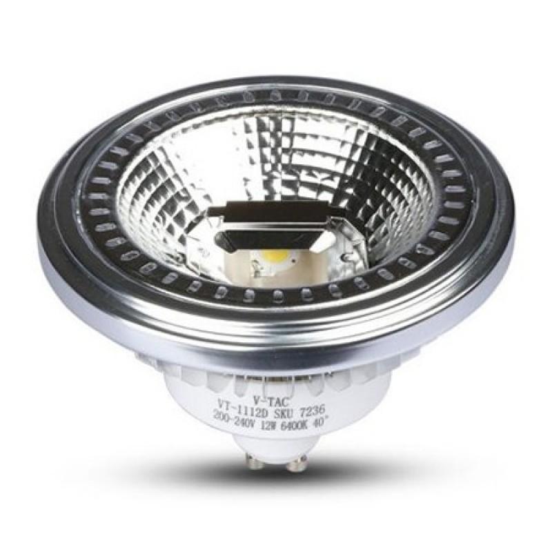 Spot LED, 12 W, 900 lm, 3000 K, alb cald 2021 shopu.ro