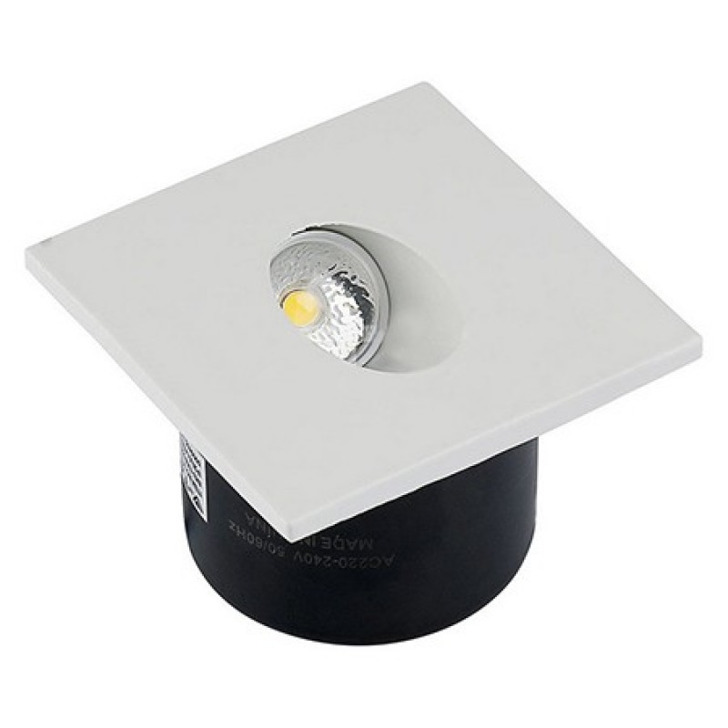 Spot LED Steplight, 3 W, 120 lm, 3000 K, lumina alb cald, Alb 2021 shopu.ro