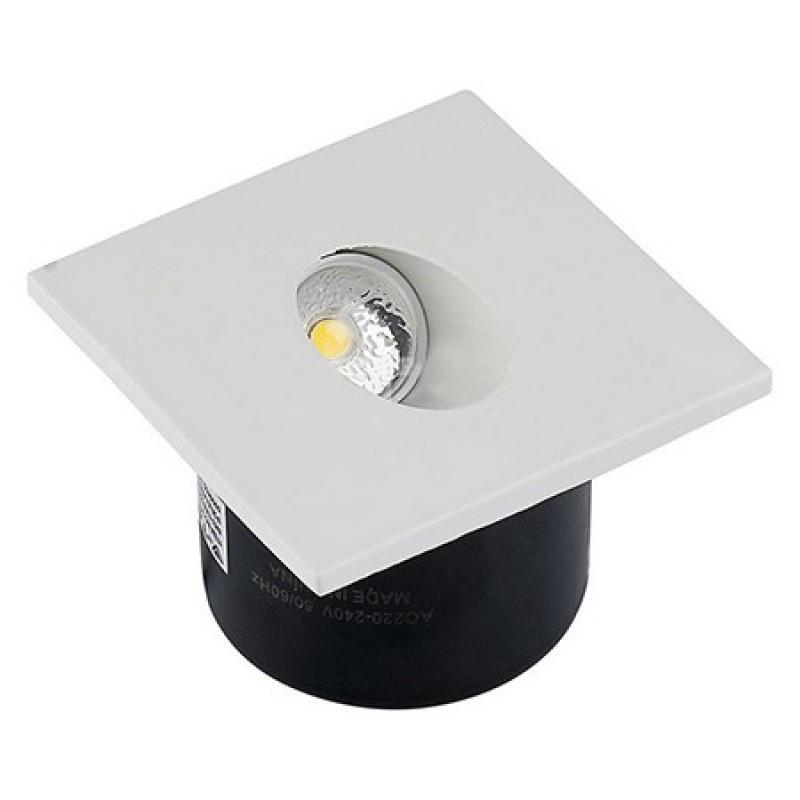 Spot LED Steplight, 3 W, 120 lm, 4000 K, lumina alb neutru, Alb shopu.ro