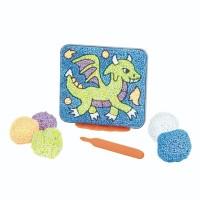 Spuma de modelat Coloram dragonul Educational Insights, 5 - 9 ani
