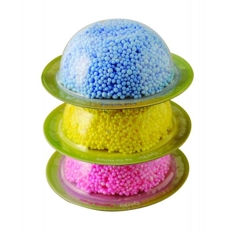 Spuma de modelat, 20 de bucati de spuma in diferite culori 2021 shopu.ro