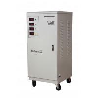 Stabilizator automat de tensiune Well, trifazat, 15KVA/12KW