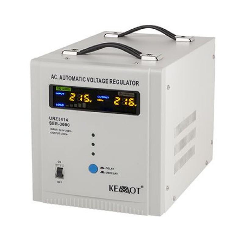 Stabilizator automat de tensiune Kemot, 3000 VA shopu.ro