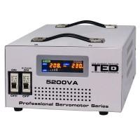 Stabilizator automat de tensiune TED, 3000 VA, 1800 W, transformator toroidal