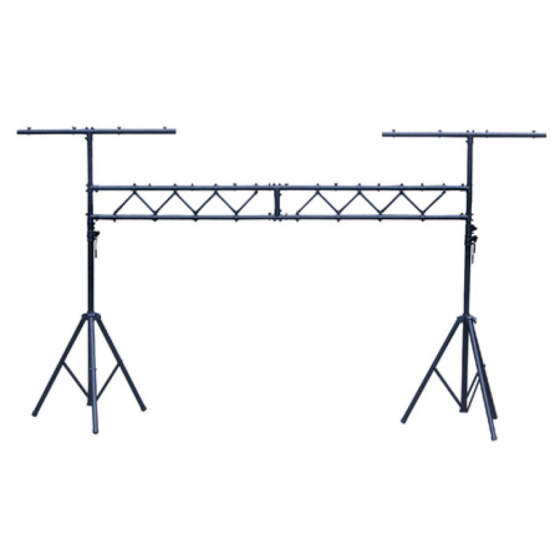 Stand lumini din aluminiu, lungime 3 m, inaltime reglabila 2-4 m 2021 shopu.ro