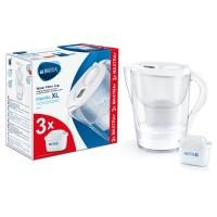 Starter pack Brita Marella XL, 3.5 L, 3 filtre, maxtra+, carbune activ, palnie, carafa, capac plastic, indicator memo