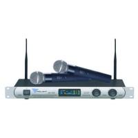 Statie 2 microfoane UHF SE-300 Azusa, raza 80 m, 110 dB