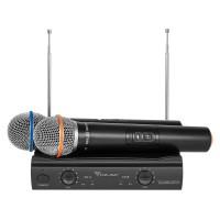 Statie 2 microfoane VHF Azusa V3000, 2 canale, modulatie FM