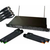 Statie 4 microfoane Azusa LS888, modulatie FM, alimentare 12 V
