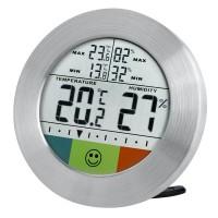 Statie meteo Bresser Circuitu, ecran digital, afisare temperatura/umiditate