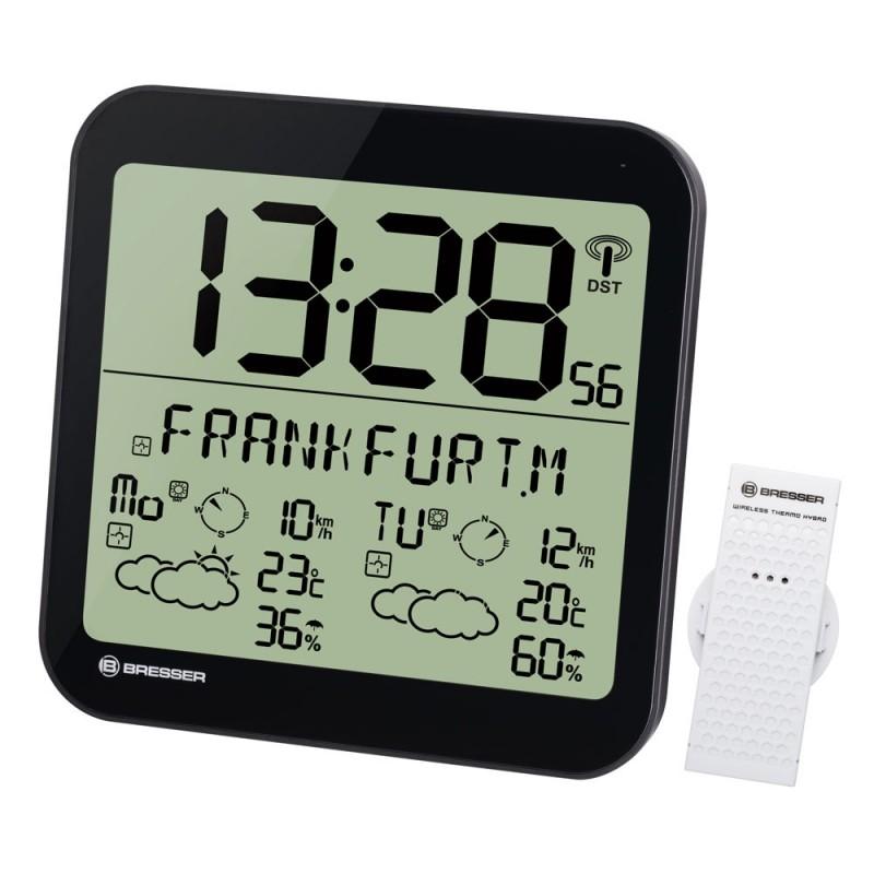Statie meteo Bresser MyTime, termometru, higrometru, alarma 2021 shopu.ro