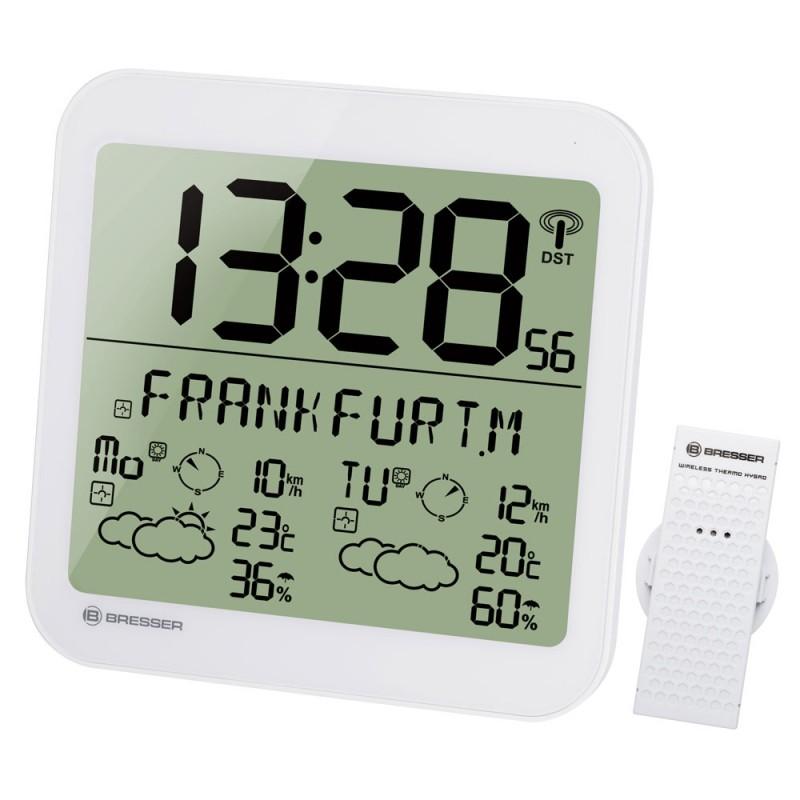 Statie meteo Bresser MyTime, termometru, higrometru, alarma, functie snooze 2021 shopu.ro