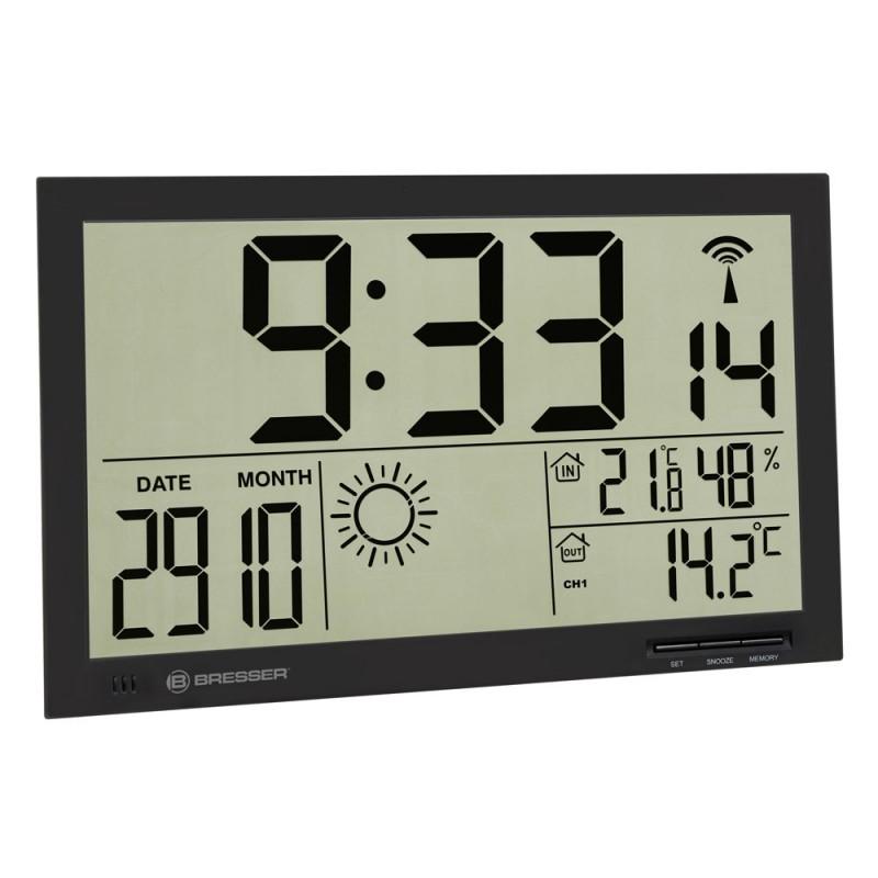 Statie meteo Bresser MyTime Jumbo, termometru, higrometru, alarma 2021 shopu.ro