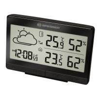 Statie meteo Bresser TemeoTrend LGX RC, termometru, higrometru, alarma