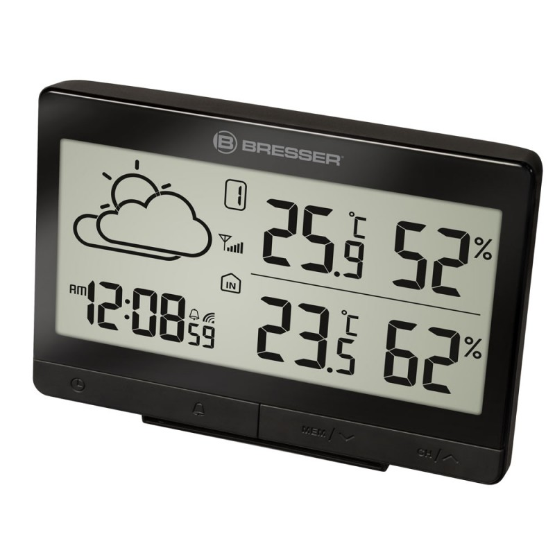 Statie meteo Bresser TemeoTrend LGX RC, termometru, higrometru, alarma 2021 shopu.ro