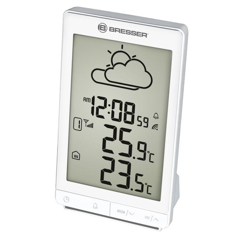Statie meteo Bresser TemeoTrend STX RC, termometru, alarma, functie snooze 2021 shopu.ro