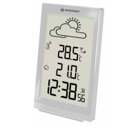 Statie meteo Temeotrend ST Bresser, afisare temperatura/prognoza/timp