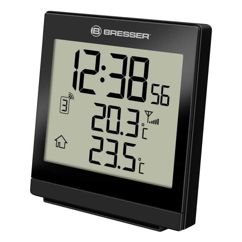 Statie meteo wireless Bresser SQ, termometru, alarma 2021 shopu.ro