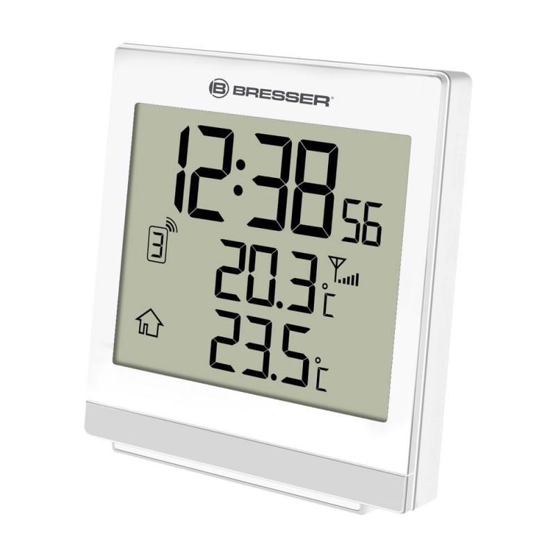 Statie meteo wireless Bresser SQ, termometru, alarma, tip ecran digital 2021 shopu.ro