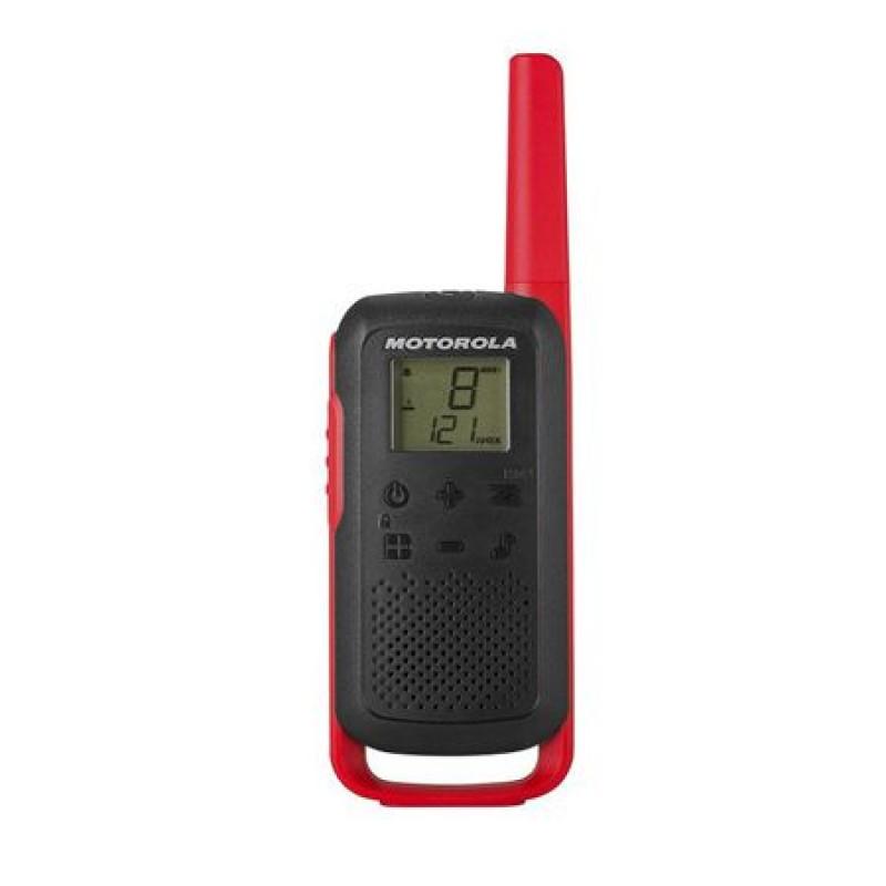 Statie radio PMR Motorola T62, 16 canale, 800 mAh, Roz/Negru 2021 shopu.ro