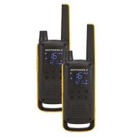 Statie radio PMR portabila Motorola TalkAbout T82, 16 canale + 121 coduri, 10 km, Dual Watch, acumulator