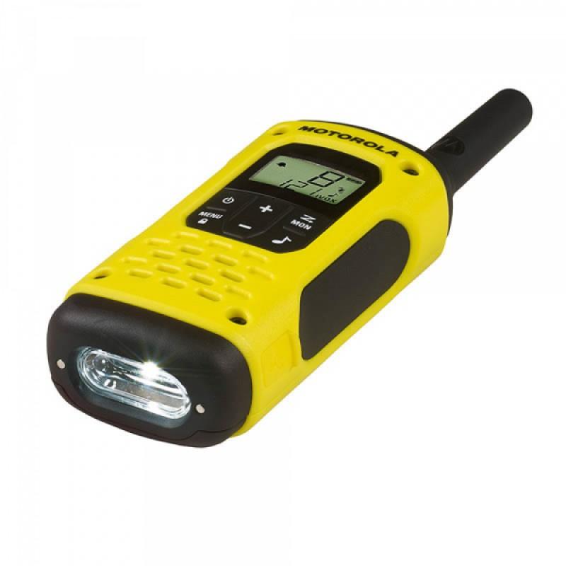Statie radio PMR portabila Motorola TLKR T92 H2O, IP67, 10 km, 3 x AAA, functie Roger Beep