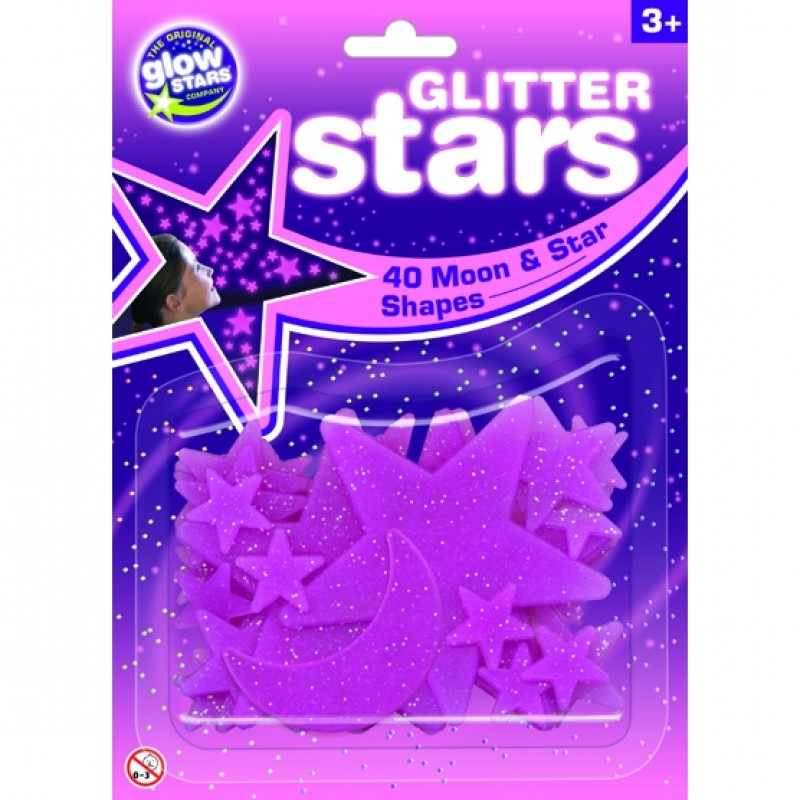 Stele roz fosforescente The Original Glowstars Company, Roz