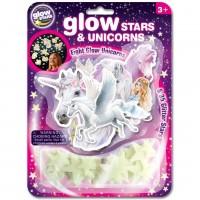 Stele si unicorni fosforescenti The Original Glowstars Company, 3 ani +