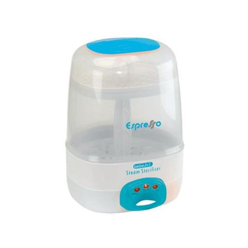Sterilizator electric cu aburi Espresso BebeduE, 6 biberoane, 750 W 2021 shopu.ro