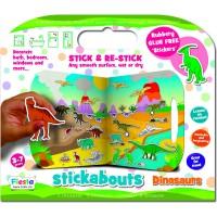 Stickere Dinozauri Stickabouts Fiesta Crafts, 44 x 25 cm, 3 ani+