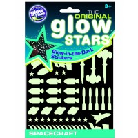 Stickere Navete spatiale fosforescente The Original Glowstars Company