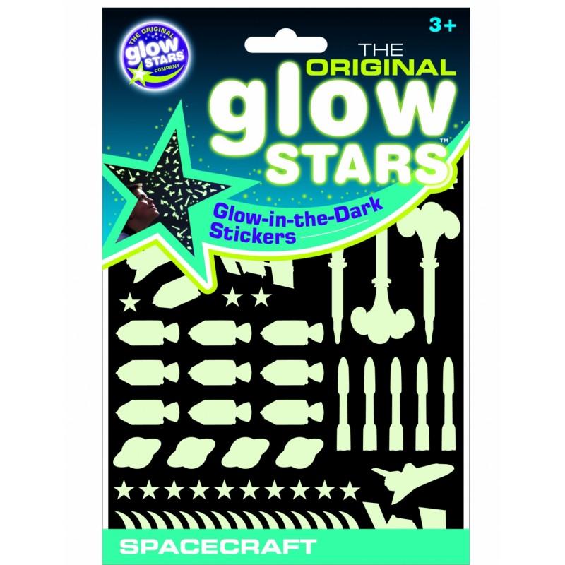 Stickere Navete spatiale fosforescente The Original Glowstars Company 2021 shopu.ro