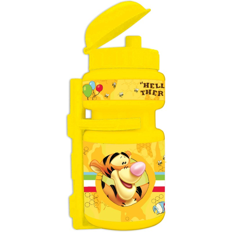 Sticla apa Winnie the Pooh Seven, suport plastic, 350 ml 2021 shopu.ro