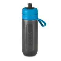 Sticla filtranta Brita Fill&Go Active, 600 ml, 22 x 7.2 cm, Albastru