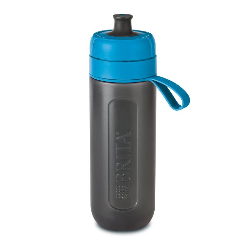 Sticla filtranta Brita Fill&Go Active, 600 ml, 22 x 7.2 cm, Albastru 2021 shopu.ro