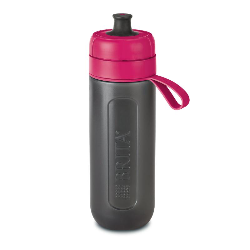 Sticla filtranta Brita Fill&Go Active, 600 ml, 22 x 7.2 cm, Roz 2021 shopu.ro