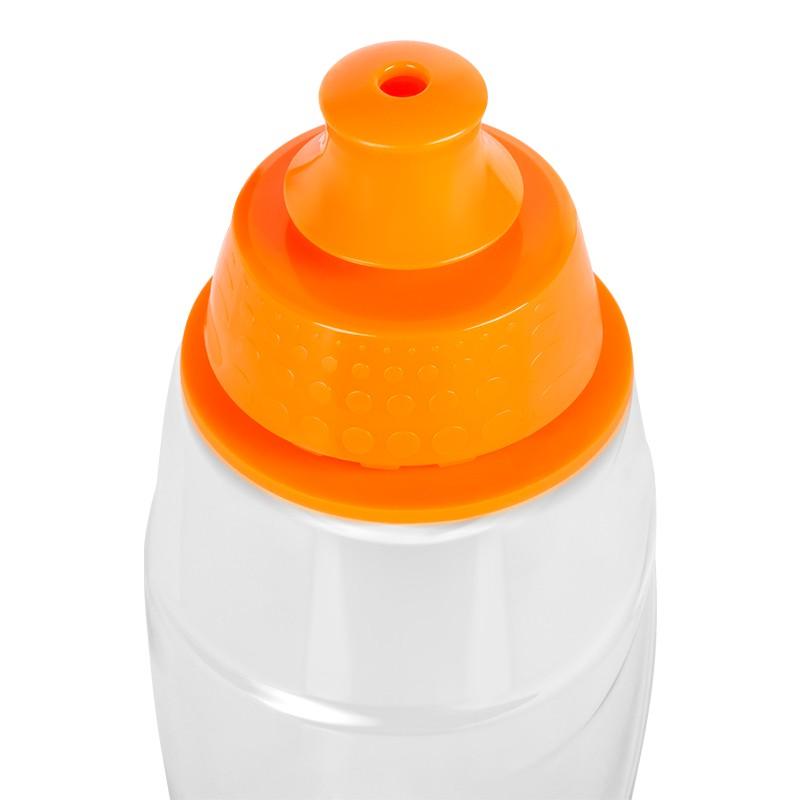Sticla pentru filtrare apa Teesa, 550 ml, tritan/polipropilena, filtru carbon activ, Portocaliu