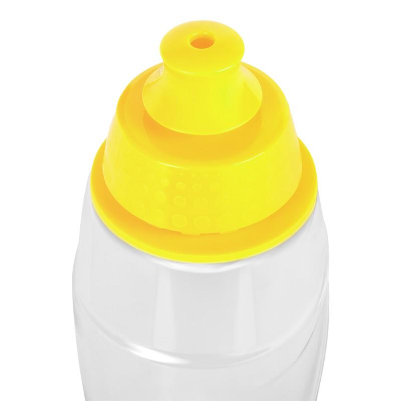 Sticla pentru filtrare apa Teesa, 550 ml, tritan/polipropilena, filtru carbon activ, Galben