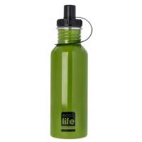 Sticla inox uni EcoLife, 600 ml, Verde