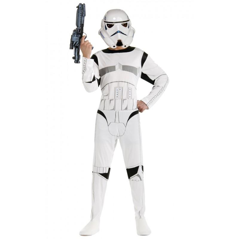 Costum pentru adulti Stormtrooper, marime M 2021 shopu.ro