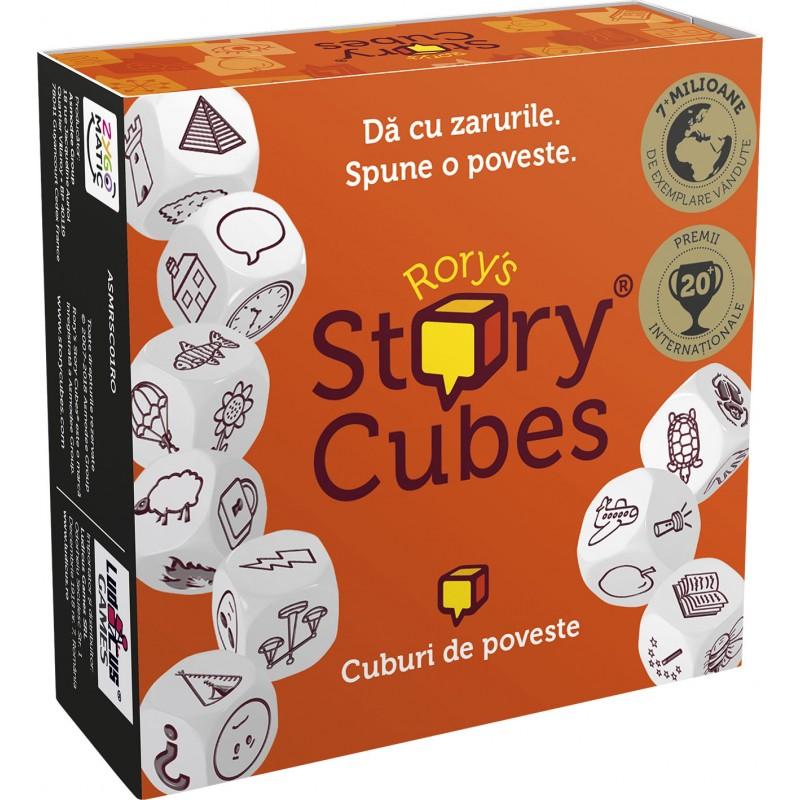 Joc de societate Story Cubes, 2-99 jucatori, 6 ani+ 2021 shopu.ro