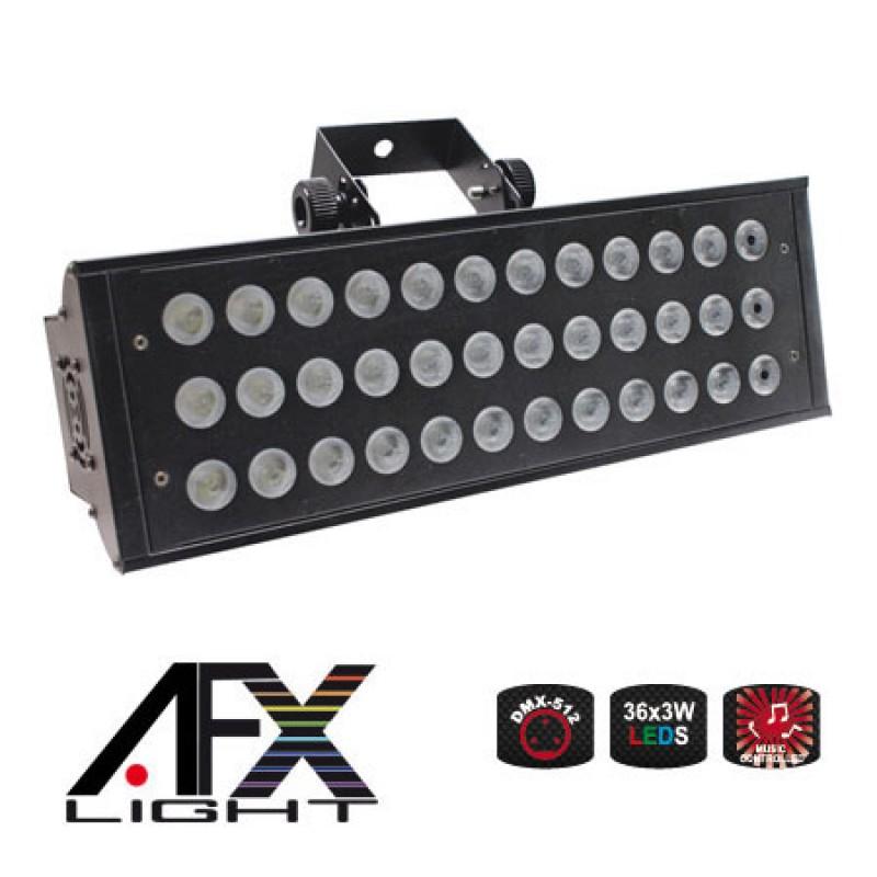 Stroboscop profesional, 150 W, 36 x LED, 2 canale DMX 2021 shopu.ro
