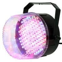 Stroboscop tricolor, 112 LED-uri, reglaj sensibilitate