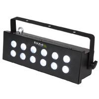 Stroboscop matricial controlat DMX, reglaj viteza flash-uri, 12 LED-uri albe
