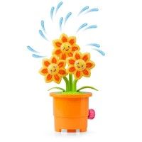 Jucarie interactva stropitoare rotativa Floarea-soarelui Tobar, material plastic, 3 ani+