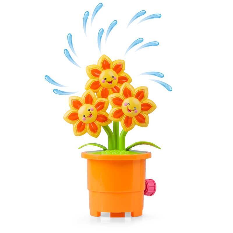 Jucarie interactva stropitoare rotativa Floarea-soarelui Tobar, material plastic, 3 ani+ 2021 shopu.ro