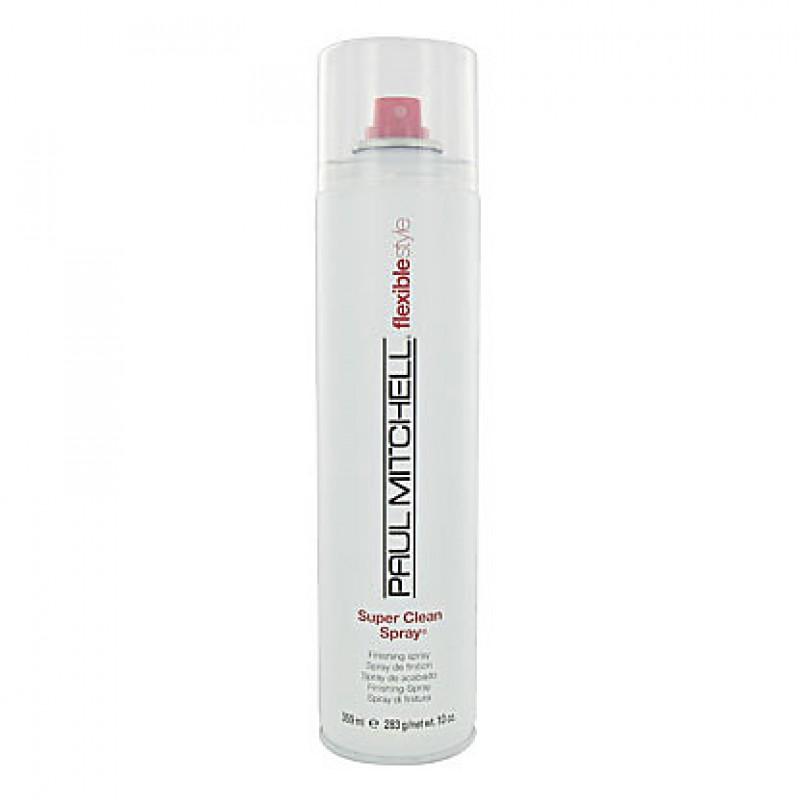 Fixativ Super Clean Spray Paul Mitchell, 300 ml, fixare medie 2021 shopu.ro